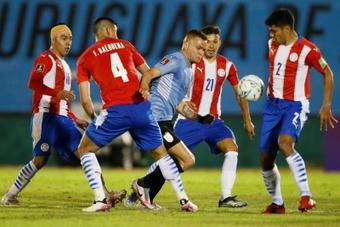 Uruguay y Paraguay empataron a cero en el Centenario. EFE