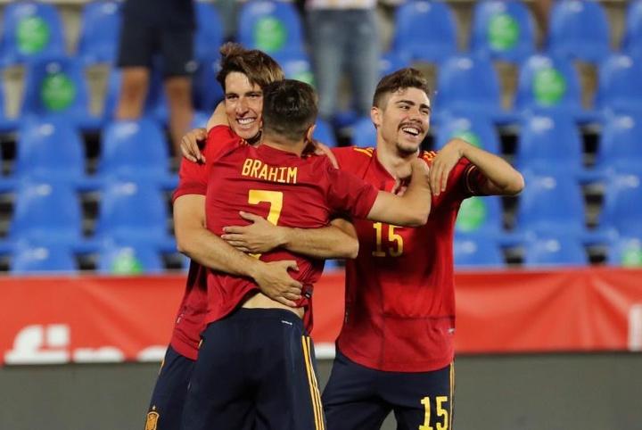 Onze jogadores da Sub 21 como reserva para o Euro. EFE
