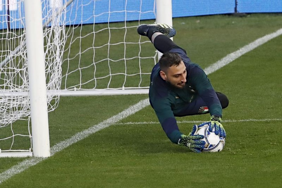 Donnarumma - XI ideal do PSG para a 2021-22