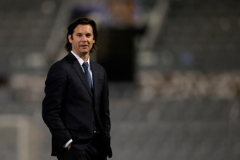 Solari habló de la similitudes entre América y Real Madrid. EFE