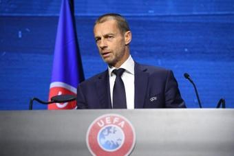 Ceferin cargó contra la FIFA. EFE