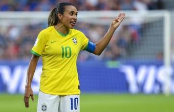 Brasil vence a Zâmbia e encara o Canadá nas quartas. AFP