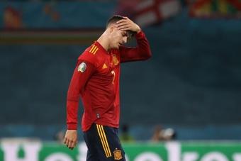 Morata y Gerard Moreno están lesionados: Luis Enrique busca '9'. EFE