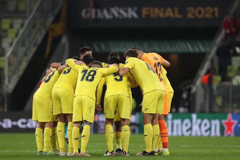 Villarreal revient le 8 juillet pour préparer la Super Coupe d'Europe. EFE