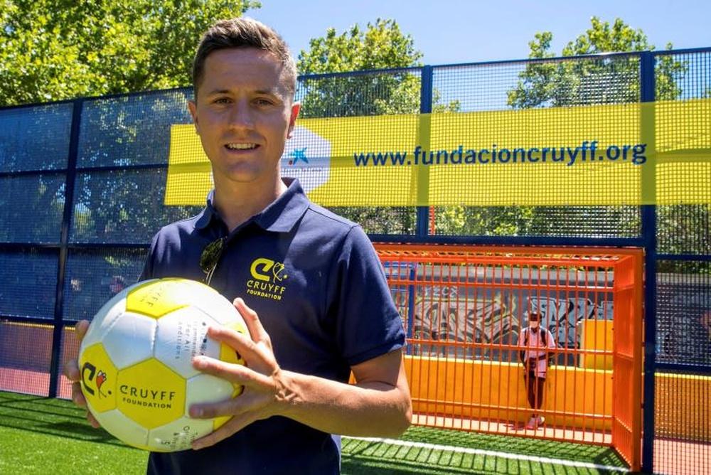 Ander Herrera trata de ser accionista del Zaragoza. EFE