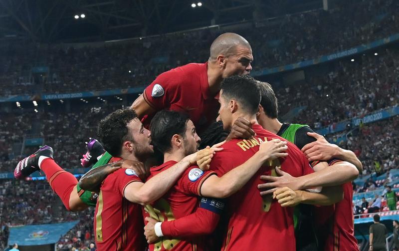 Portugal 2-2 Francia Eurocopa 2020