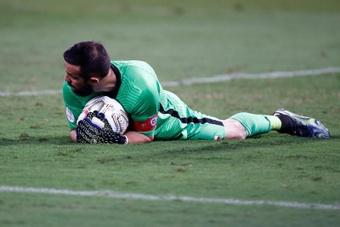 Bravo admitió que tienen problemas con el gol. EFE