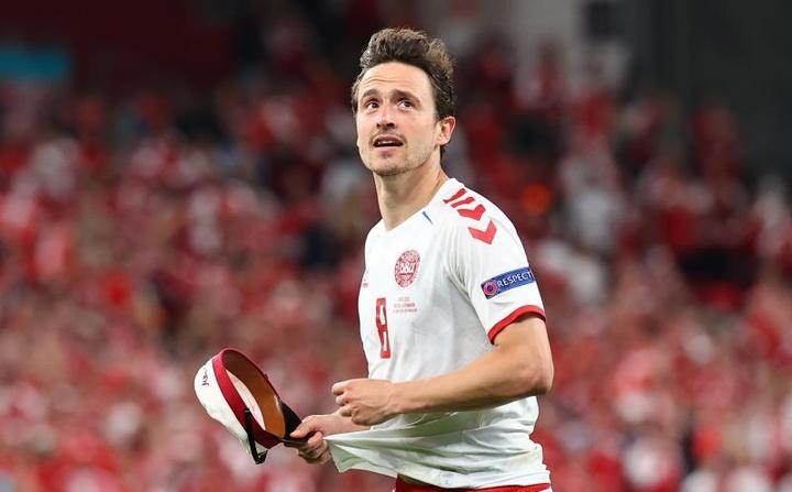 Delaney, homme du match République Tchèque-Danemark. EFE