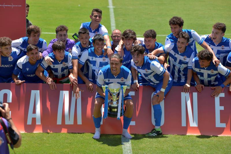 El Deportivo, campeón de la División de Honor Juvenil