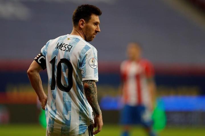 Compos probables : Bolivie-Argentine. efe