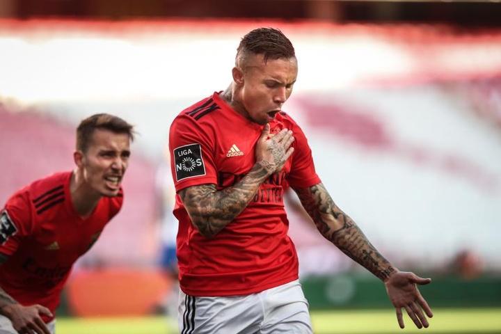 Benfica engata a segunda vitória no Português. AFP