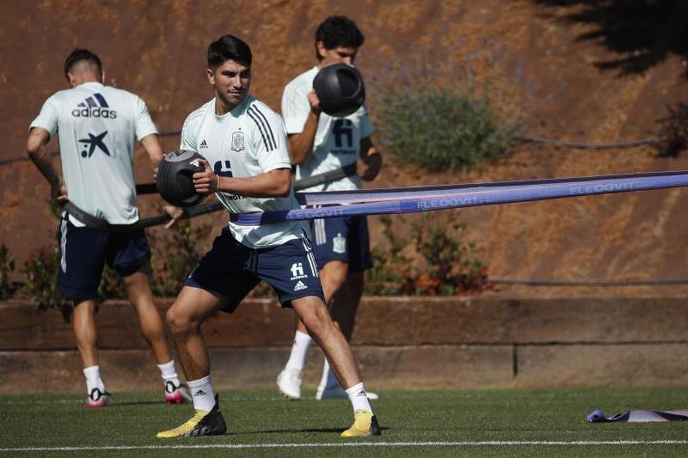 Carlos Soler estará en los Juegos Olímpicos. EFE/Javier Lizón