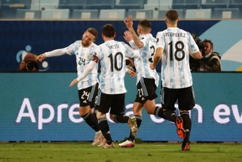 El Sevilla también juega en la final de la Copa América. EFE/Sebastiao Moreira
