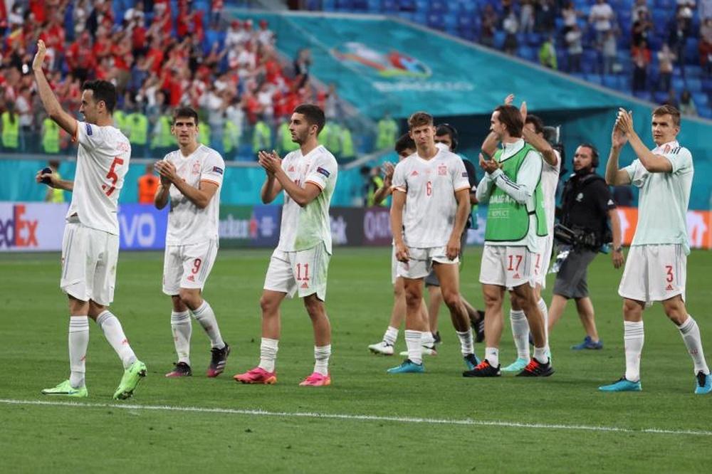 Italia y España lucharán por la final el martes... y en octubre. EFE/Kiko Huesca