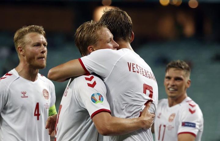 Dinamarca, a las semifinales de la Eurocopa. EFE