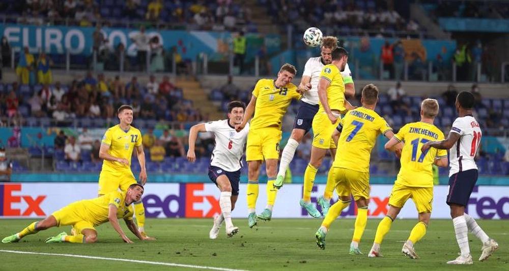 Crónica del Ucrania-Inglaterra de la Eurocopa 2020. EFE