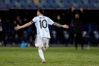 Scaloni : Messi est le meilleur joueur de tous les temps. afp