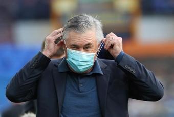Ancelotti redebutó con victoria. AFP/Archivo