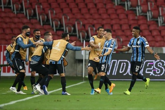 Grêmio tenta cassar liminar do Flamengo. EFE/Buda Mendes