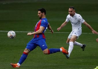 El Eibar disputó un amistoso con la Real Sociedad B. EFE