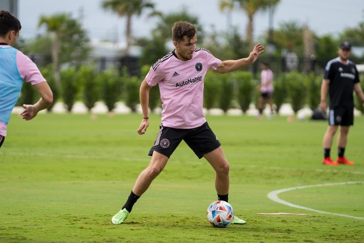 Aston Villa prête Indiana Vassilev à l'Inter Miami.EFE/Inter Miami CF