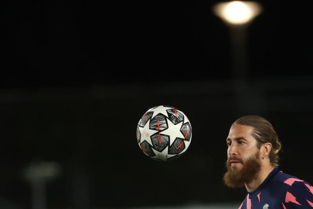 Ramos, casi descartado ante el Sevilla. EFE/Archivo