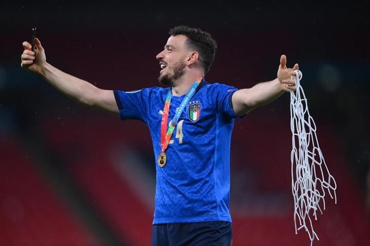 Atlético de Madrid cogita a chegada do italiano. EFE/EPA/Laurence Griffiths