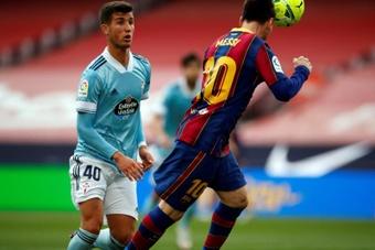 El último gol de Leo Messi con el Barça... ¡fue de cabeza! EFE