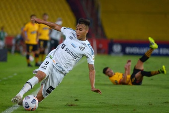 Santos anuncia saída de Kaio Jorge para Juventus. EFE/Marcos Pin