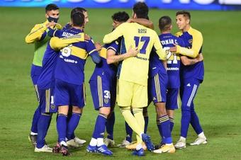 Boca Juniors se enfrentará a Racing en la novena jornada de Liga. EFE/Archivo