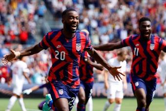 Shaq Moore ya prepara la temporada con el Tenerife. EFE