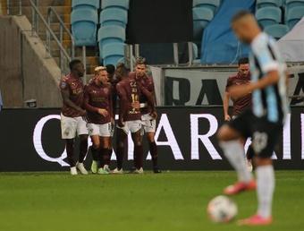 Liga de Quito borró a Gremio de la Sudamericana. EFE