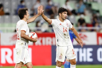 Soler destacó la genialidad de Asensio para llegar a la final. EFE
