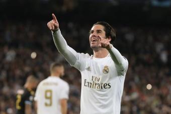 Promoção no Real Madrid: Isco poderia sair por 18 milhões. AFP
