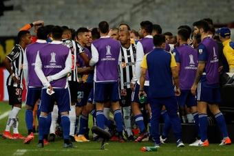 Atlético Mineiro reclamó severas sanciones para Boca. EFE