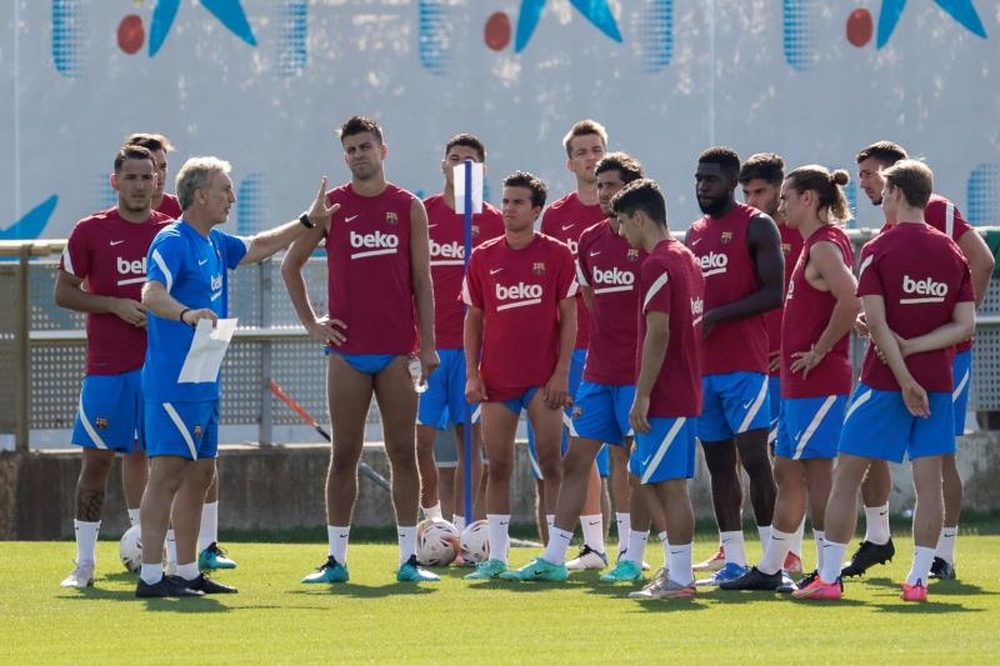 El Barça se blinda en Aasen. AFP
