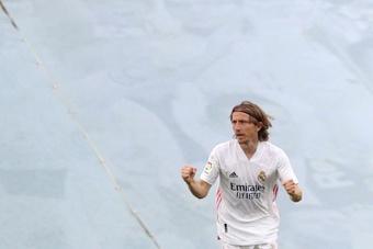 Modric desfalcará o Real Madrid contra o Levante. AFP