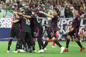 Héctor Herrera hizo el tanto de la victoria. Twitter/GoldCup