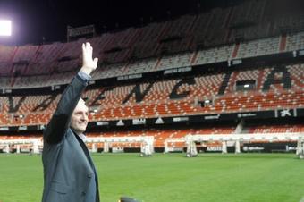 Cañizares repasó la actualidad del fútbol. EFE