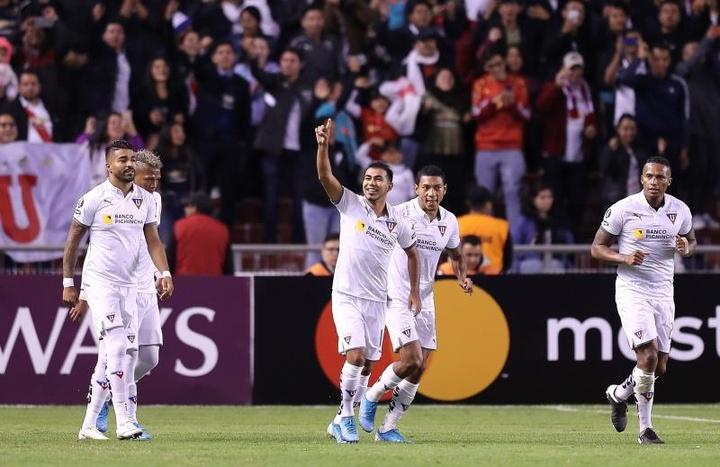 Liga de Quito se impuso a Paranaense por 1-0. EFE/Archivo