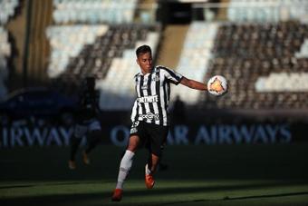 Kaio Jorge em Turim para assinar com a Juve.EFE