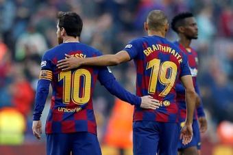 Messi au PSG ? 'Je n'ai aucune info' affirme Herrera. AFP
