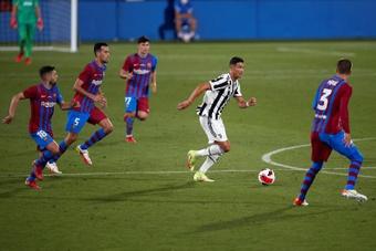 Le FC Barcelone a battu la Juventus 3-0. EFE