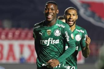 Palmeiras y Mineiro