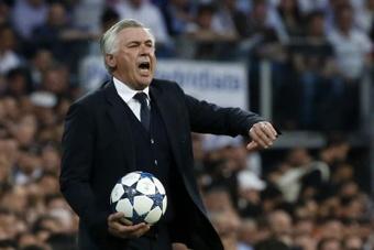 Ancelotti recomendó tocar menos a Vinicius y rematar más. EFE