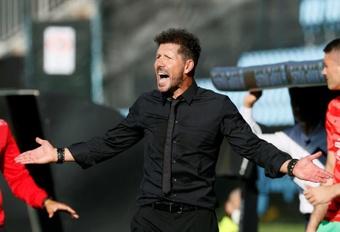 Simeone analizó la derrota. EFE