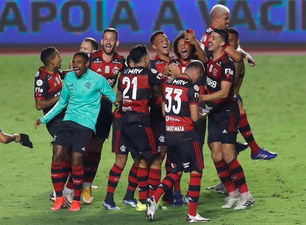 Clubes da Série A vão ao STJD contra o Flamengo. AFP
