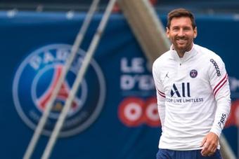 Beckham já fala em levar Messi para o Inter de Miami.EFE