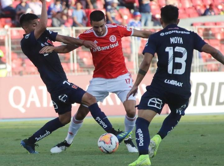 Thiago Galhardo, a punto de firmar con el Celta. EFE