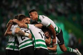 El Sporting CP venció. EFE